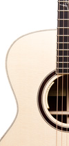 Upper bout front Sungha Jung Signature
