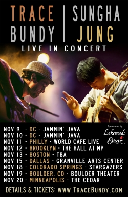 Sungha Jung on tour in the US in Fall 2016