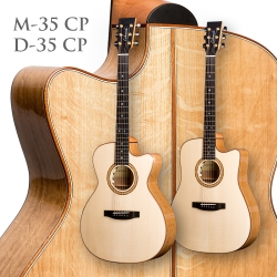 New guitar models D-35 CP & M-35 CP
