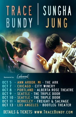 Sungha Jung on tour in the US together with Trace Bundy