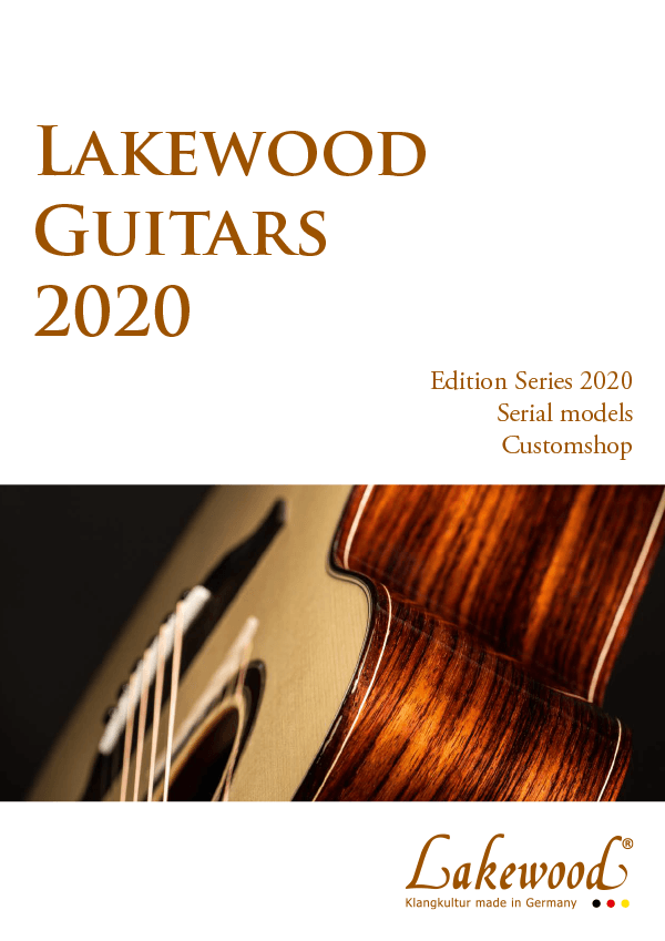 Lakewood Catalogue 2020 Cover